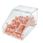 Acrylic Lift-Open Candy Bin and Scoop - 1.5 Gallon