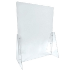 Adjustable Acrylic Counter Cashier/Sneeze Guards - 2ct