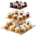 Bamboo Cupcake Display