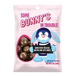 Bunny's In Trouble Malt Ball Peg Bags