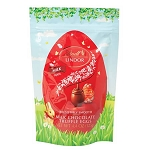 Chocolate Lindor Egg Truffle Pouches