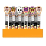 Day Of The Dead Candy Tubes -24ct