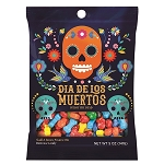 Day of the Dead Skull and Bones Peg Bags - 12ct