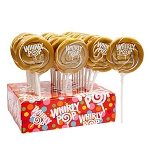 Gold & White Whirly Pops - 1.5oz - 24ct