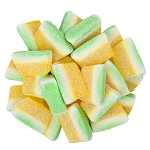 Gummy Pina Colada Slices