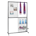 Large Portable Wire Grid Display Set