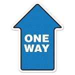 One Way Arrow Anti-Slip Floor Decal Sticker