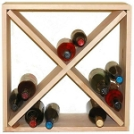 Pine Cellar Wine Display Cube