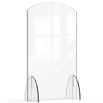 Acrylic Protection Barrier / Sneeze Guard 24 x 10 x 40