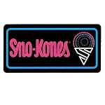 Sno-Kones Lighted Sign