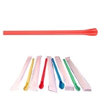 Wrapped Snow Cone Spoon Straws