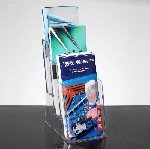 Acrylic Brochure Holder-3 Tier