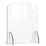 Acrylic Protection Barrier / Sneeze Guard 24 x 8 x 28