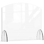 Acrylic Protection Barrier / Sneeze Guard 36 x 8 x 28