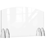 Acrylic Protection Barrier / Sneeze Guard 48 x 8 x 28