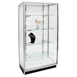 Aluminum Wall Showcase - 36 Inch
