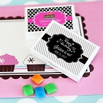 Birthday Party Gum Boxes - 24ct