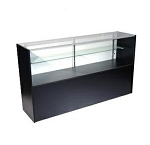 Black Half Vision Display - 48 Inch