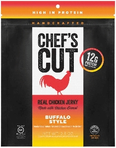 Buffalo Style Chicken Jerky - 2.5oz - 8ct