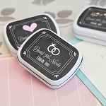 Chalkboard Wedding Mint Tins - 24ct