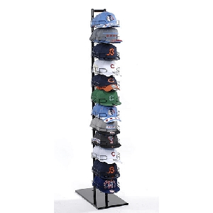 Hat Rack Floor Display - 12 Tier