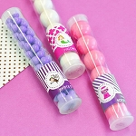 Kids Birthday Candy Tubes - 24ct