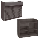 Ledgetop Counter With Slatwall Front - 72 inch