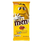 M&M Milk Chocolate Peanuts Bar - 12ct
