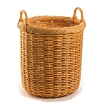 Medium Round Wicker Storage Basket