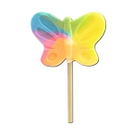 Pastel Butterfly Lollipops - 48ct