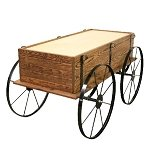 Planter Wagon - Toasted Finish