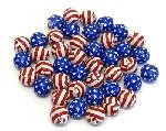 Stars & Stripes Chocolate Balls - 5lbs