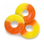Sugar-Free Peach Rings - 4.5lbs