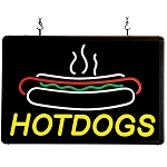 Hotdogs Ultra-Bright Sign