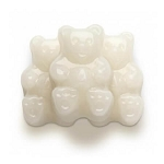 White Strawberry-Banana Gummi Bears - 5lbs