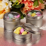 Windowed Round Tin  - 4oz  - 24ct