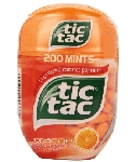 Tic Tac Giant Orange Bottle 3.4oz - 4ct