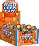 Tootsie Assorted Fruit Chew Pops - 48ct
