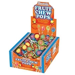 Tootsie Roll Fruit Chew Pops - 48ct