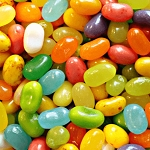 Tropical Mix / Mixed Color Jelly Belly - 10lbs