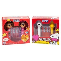 Valentine Disney/Peanuts Pez Twin Pack  - 12ct