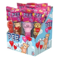 Valentines Pez Dispensers  - 12ct