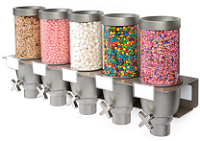 Yogurt Toppings / Candy Dispensers