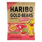 Watermelon Gummy Bears Peg Bag - 12ct