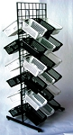 White Double Sided CLB Slim Bin
