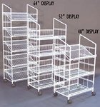 Modular Wire Display Rack - 40 Inch