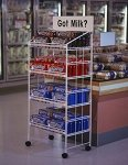 Modular Wire Display Rack - 52 Inch