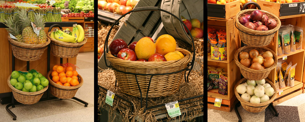 Produce Baskets For Grocery Stores