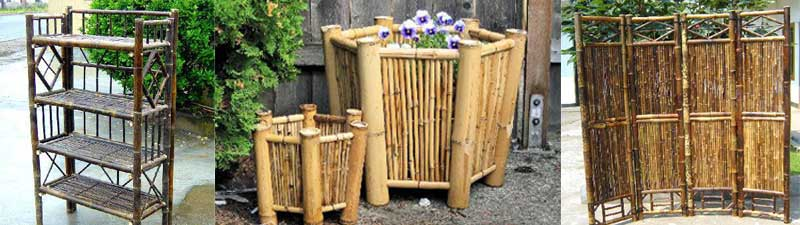 Bamboo Wooden Store Displays