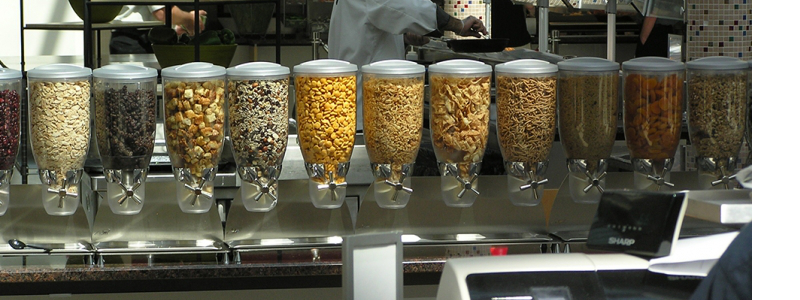 Counter Top Toppings Dispensers